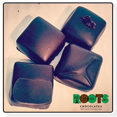 Partnership with Roots Chocolates